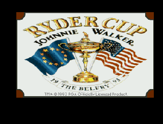 Screenshot Thumbnail / Media File 1 for Ryder Cup by Johnnie Walker (1993)(Ocean)[!]